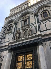 bapistry above doors