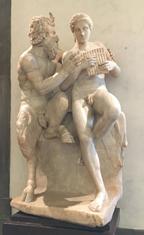 centaur and pan