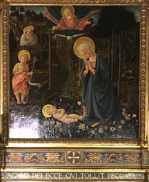 madonna of palazzo medici fillipo lippi
