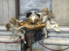 cherubs and fountain