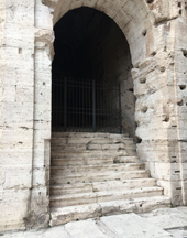 colosseum entrance
