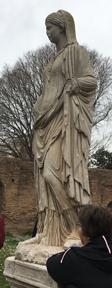 vestal statue