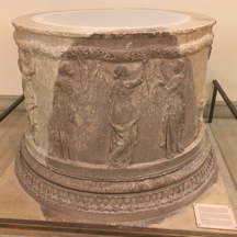 altar sanctuary of Athena Pronoaia