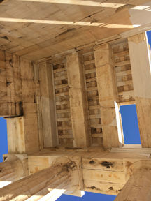 ceiling of Propylaia
