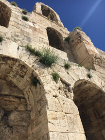 odeion of herodes arches