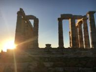 temple of poseidon sunset2