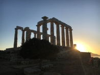 temple of poseidon sunset5