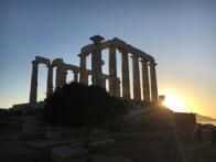 temple of poseidon sunset5