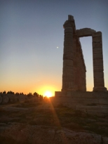 temple of poseidon sunset9